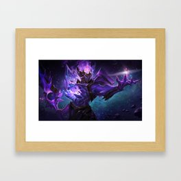 Dark Star Jarvan IV League of Legends Framed Art Print
