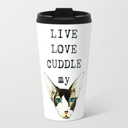 Live Love Cuddle Travel Mug