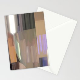 light lines 1 Stationery Cards