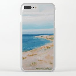 By the Sea Side Clear iPhone Case