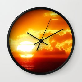 Gorgeous Sunset Wall Clock