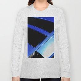 80s Blue Muscle Long Sleeve T-shirt