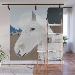 Icelandic Horse, Iceland Wall Mural