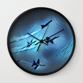 flight of angels Wall Clock