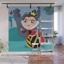 Queen of hears Wall Mural
