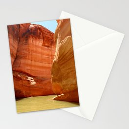 Antelope Canyon On Lake Powell Stationery Cards