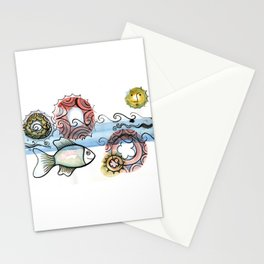 Life on the Earth - The Ocean Stationery Cards