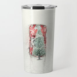Christmas Eve in a hurry Travel Mug