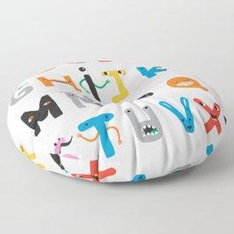 ABC The Monster Alphabet Floor Pillow