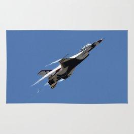 US Air Force Thunderbird F-16 Afterburner Climb Rug