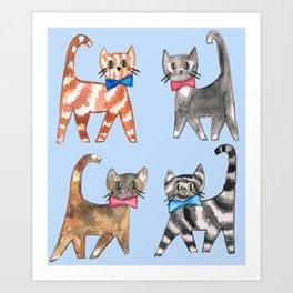 Cute kittys Art Print