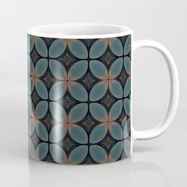 Metallic Deco Blue Coffee Mug