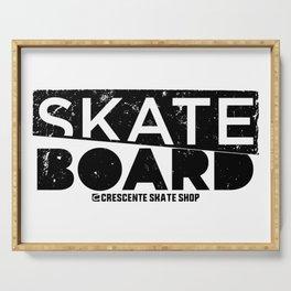 Skateboard Serving Tray