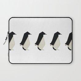 Origami Penguin Laptop Sleeve