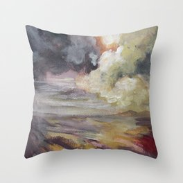 Cumulonimbus Throw Pillow