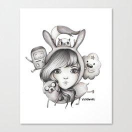 Fionna & Friends  Canvas Print