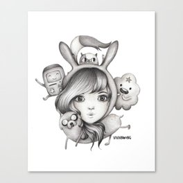 Fionna & Friends  Canvas Print