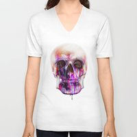 true blood V-neck T-shirts featuring True Blood A by beart24