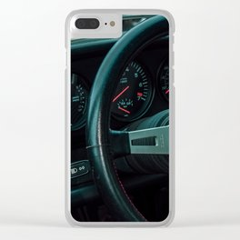 CARS & COFFEE. 026. Clear iPhone Case