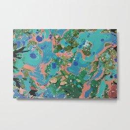 Marble texture 17 Metal Print