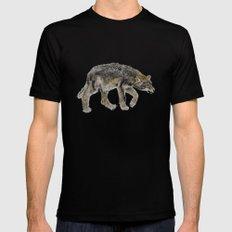 Wolf cub - Louveteau - Lobezno - Lobacho MEDIUM Black Mens Fitted Tee