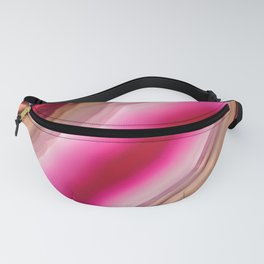 Pink Rapture Agate Fanny Pack