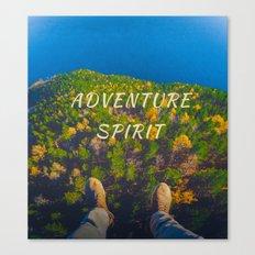 adventure spirit Canvas Print