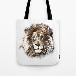 Portrait: Lion Tote Bag