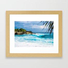 Cali Summer Framed Art Print