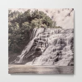 Waterfall in all its beauty Metal Print