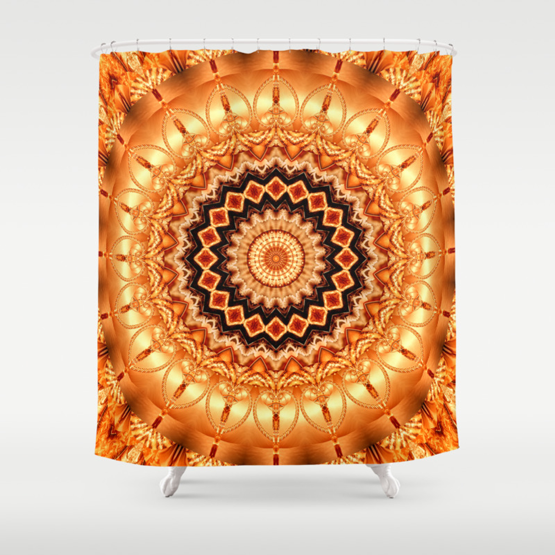 Mandala Luxury Shower Curtain
