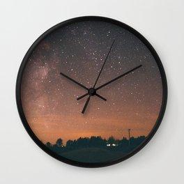 Starry Night I Wall Clock