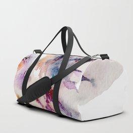 Watercolor Fish Painting Duffle Bag