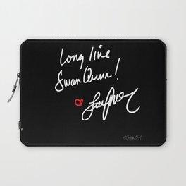 Long live Swan Queen! Laptop Sleeve