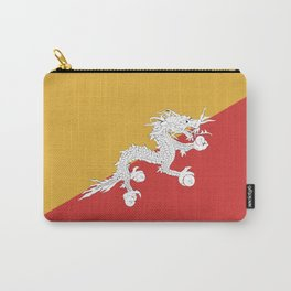 Bhutan flag emblem Carry-All Pouch