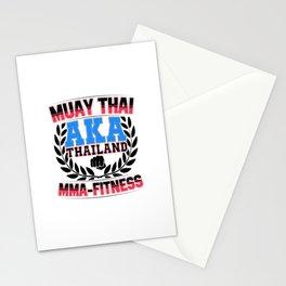 Muay Thai MMA Thailand Fitness Stationery Cards
