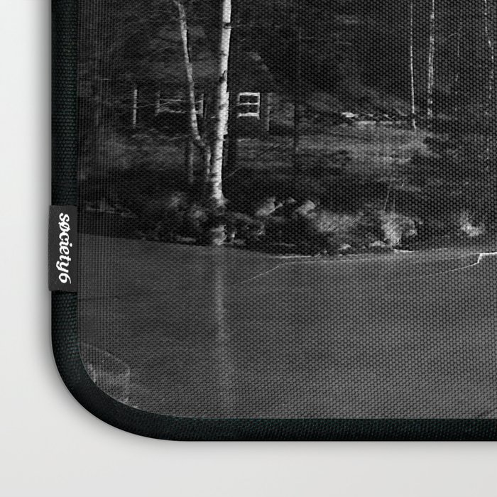 Sauna on a Finnish Lake Laptop Sleeve