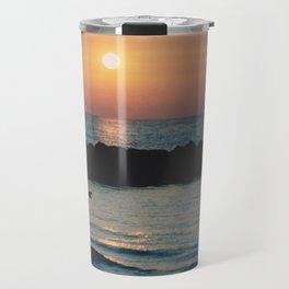 Sunset Ocean Bliss #1 #nature #art #society6 Travel Mug