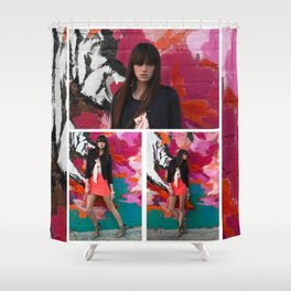 Wolf like Me  Shower Curtain