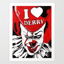 Hiya Georgie! Art Print