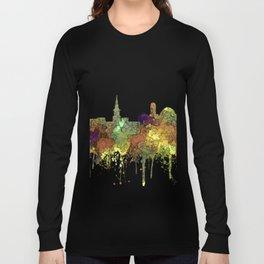 Alexandria, VirginiaSkyline - SG Safari Buff Long Sleeve T-shirt