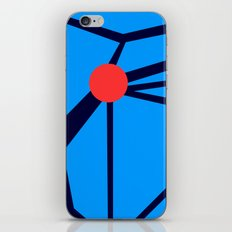 3 Red Dots iPhone & iPod Skin