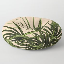 Palm Life - Pastel Floor Pillow