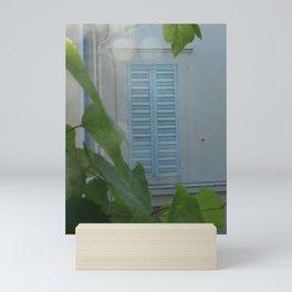 Closed Window Mini Art Print