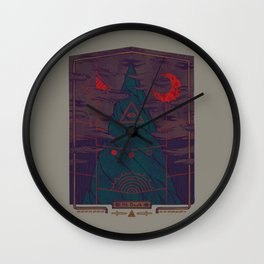 Mount Death Wall Clock