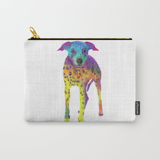 Colorful Dalmatian Carry-All Pouch