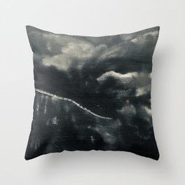 Protector of the Mountain Throw Pillow