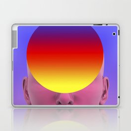 Gradient face Laptop & iPad Skin
