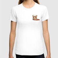 meow T-shirts featuring Meow by Noreen Loke