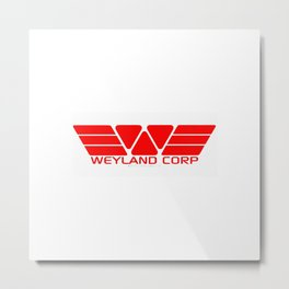 Weyland Corp Metal Print